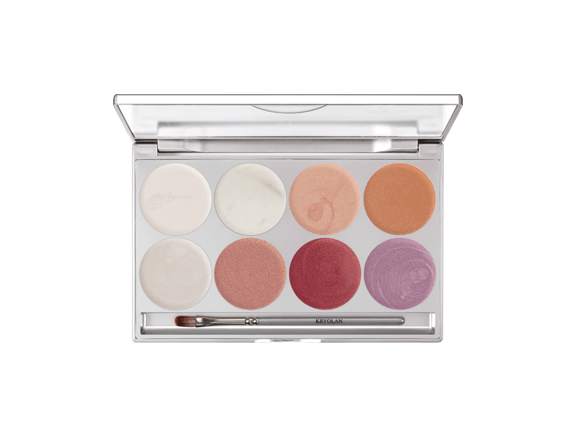 KRYOLAN illusion gloss palette 8 colors