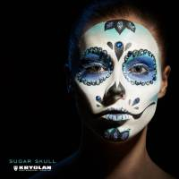 KRYOLAN the sugar skull kit